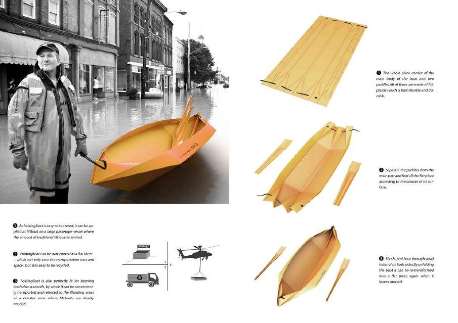 Folding Boat - Wangqi Design